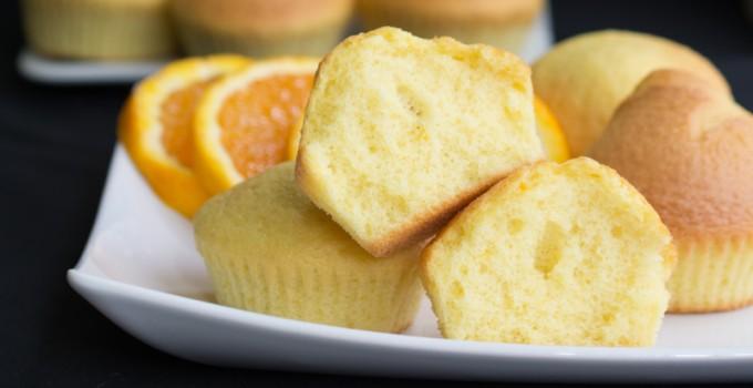 Orange and Olive oil muffins