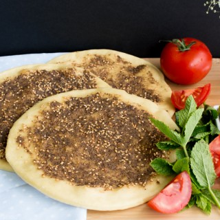 Za'atar Man'ouche – Flat bread with herbs