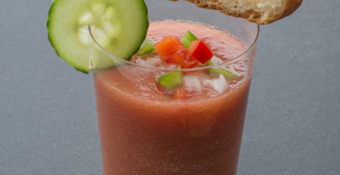 الكاسباتشو الأندلسي: حساء الطماطم البارد
