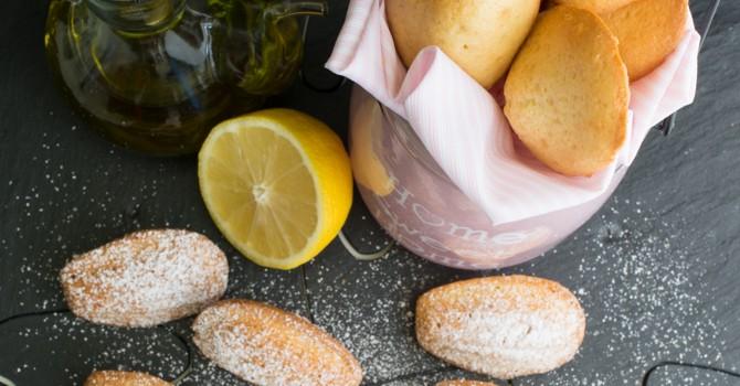 Madeleines au citron et à l'huile d'olive