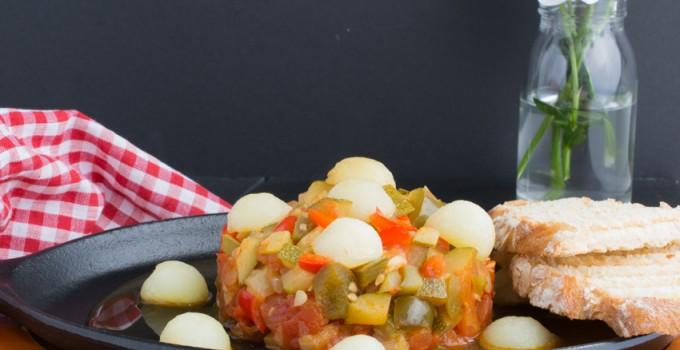 البيستو المانشيغو مع البطاطس