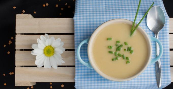 حساء العدس الأحمر