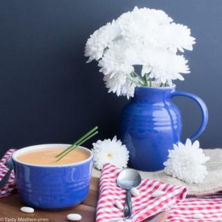 Crema de alubias blancas y verduras