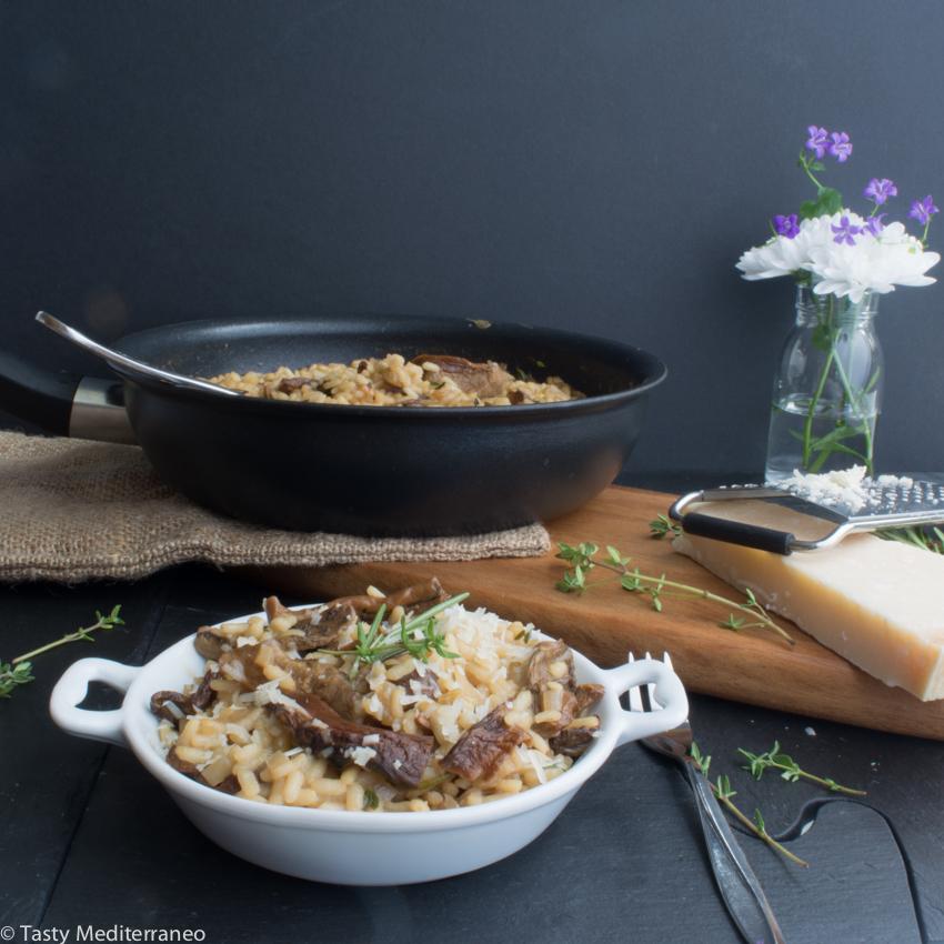 Tasty-Mediterraneo-porcini-thyme-risotto