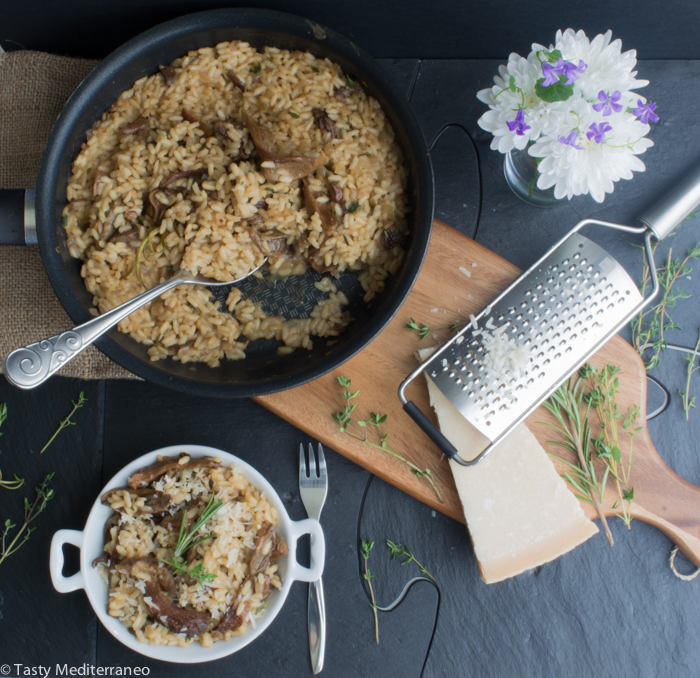Tasty-Mediterraneo-porcini-thyme-rosemary-risotto