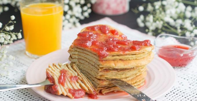 St. Valentine's pancakes
