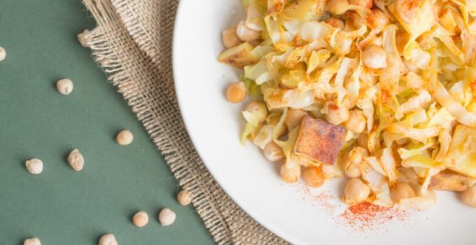 Salade méditerranéenne de chou