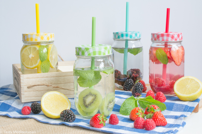 Tasty-Mediterraneo-fruit-infused-water