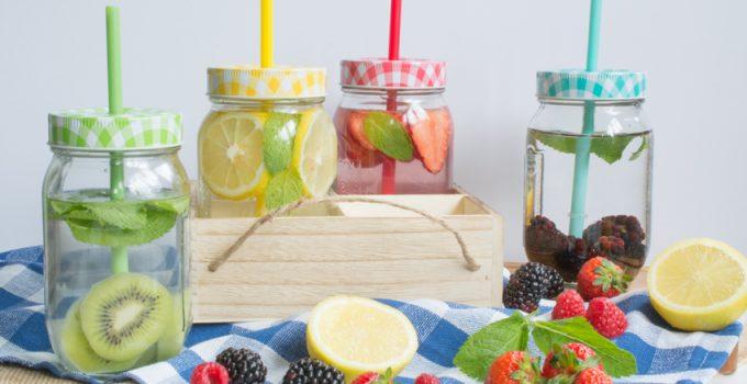 Eaux infusées aux fruits