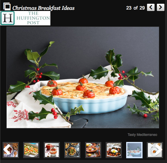 Tasty Mediterraneo on The Huffington Post