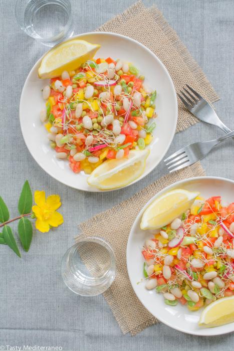 Tasty-Mediterraneo-bean-summer-salad