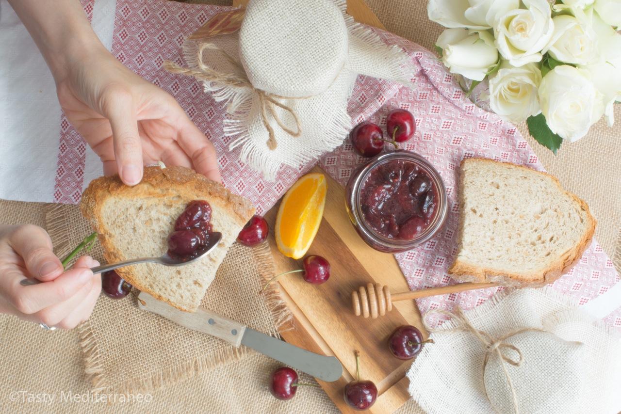 Tasty-Mediterraneo-orange-cherry-jam