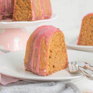 Moist Beetroot Spelt Bundt Cake