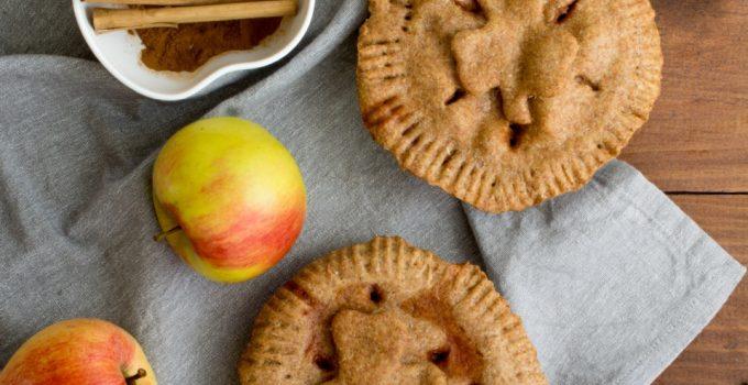 Tarta vegana de manzana en masa de espelta y AOVE