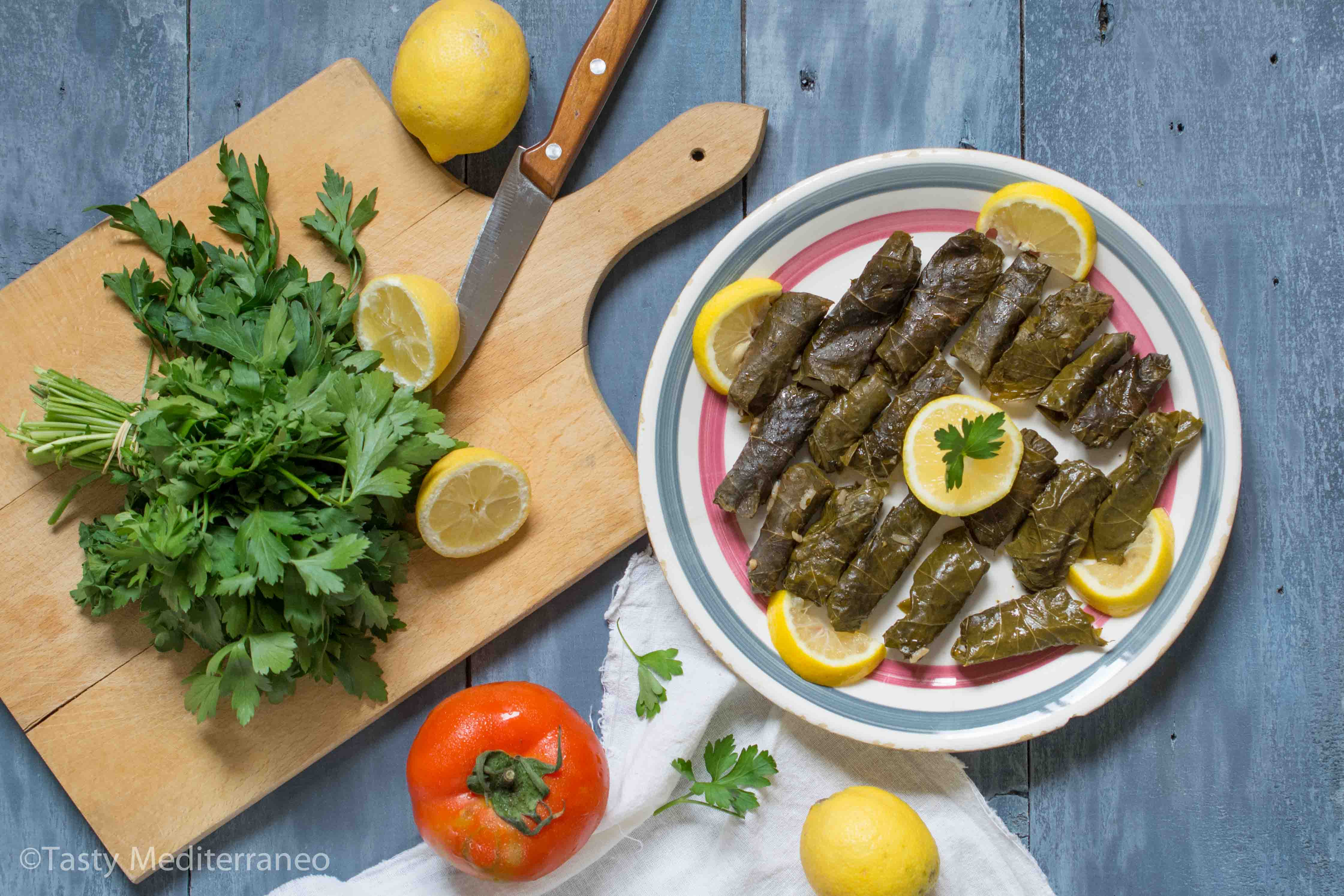 Lebanese stuffed grape leaves vegan tasty mediterraneo are you familiar with the nutritional properties of grape leaves forumfinder Gallery