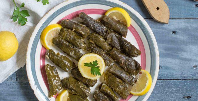 Feuilles de vigne farcies à la libanaise