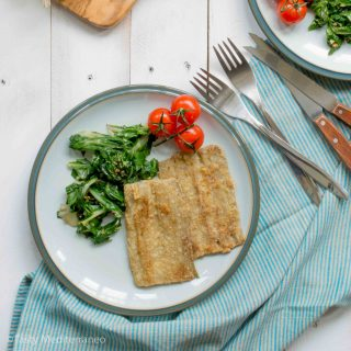 Vegetarian chard fillets