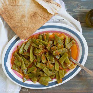 لوبيا بزيت اللبنانية