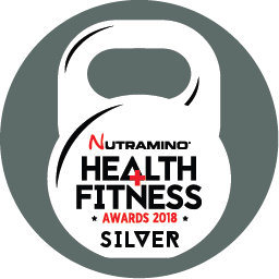 Silver Winner NUTRAMINO Health & Fitness Awards
