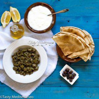 Foul bi zeit: Habas con AOVE a la libanesa
