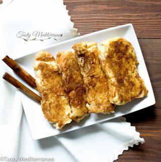 Torrijas: dessert de Pâques espagnol